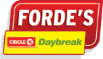 Forde's Day Break. Club main sponsor